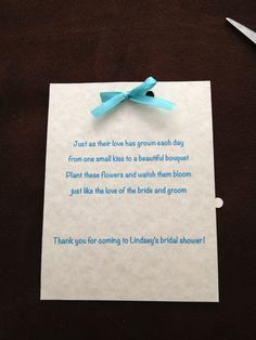 Wedding Shower Poems For Gift Cards : ... Bridal shower poems, Bridal shower games and Bridal shower gifts