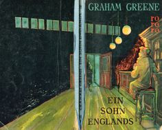 Graham Greene, Ein Sohn Englands, rororo, Hamburg 1953, Umschlag Karl Gröning jr/Gisela Pferdmenges