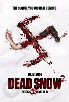 Nieuwe poster Dead Snow 2 is een flauwe inhaker