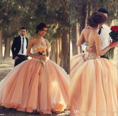 Elegant Arabic Celebrity Dress Sexy Strapless Floor Length Ball Gown Crystal Beaded Peach Organza Evening Prom Dresses New Mermaid Evening Dress Nice Evening Dresses From Wonderful_dress, $136.69| Dhgate.Com