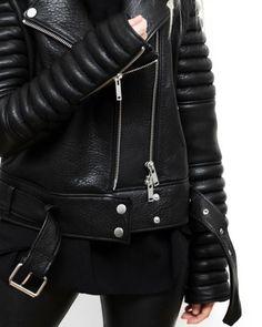 leather lust | @bingbangnyc