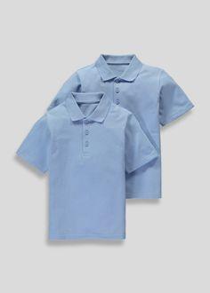 a85712a356fd School Polo Shirts, School Uniform Shop, Matalan, Shirt Blouses, Back To  School