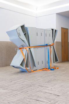 Matias Faldbakken, Untitled (Locker Sculpture #2), 2011