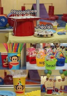 Paul Frank - Julius Themed Birthday Party