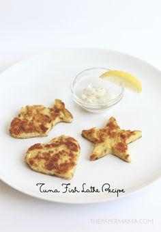 Easy Tuna Fish Latke Recipe (cut into kid-friendly shapes)