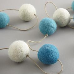 Gumball Garland, great for decorating for the holidays or any day.