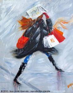 L'artiste Chantal Urquiza - A NOUS PARIS