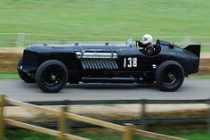 """Packard-Bentley """"Mavis"""" - 1,500bhp 42-litre Packard V12 engine, mounted on a…"""
