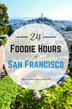 The best food in San Francisco. If you're short on time (or just want to sample San Francisco's best food!), we give you the top spots to satisfy all of your cravings.