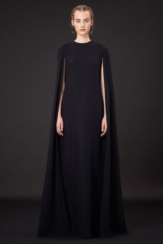 You did say austere. And dark. Voila!  Valentino, Vogue