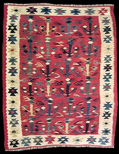Galerie KELIM ·Sarköy und Manastir Rugs On Carpet, Carpets, Serbian, Kilim Runner, Kilims, Tribal Rug, Romania, Kilim Rugs, Art Drawings
