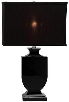 Black Crystal Urn Table Lamp - Safavieh - $218 - domino.com