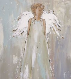 Peace Angel on Paper – CanvasKick