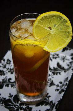 This lemon iced tea recipe is great for beating the heat