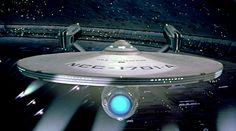 The starship U.S.S. Enterprise NCC - 1701 - A   in space dock. Star Trek IV : The Voyage Home ( 1986 ).