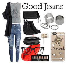 """Good Jeans Contest"" by kristaylai ❤ liked on Polyvore"