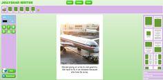 Bezpłatne Technologia dla nauczycieli: Jellybean Writer - Online narzędzie do tworzenia Książki z obrazkami