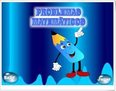 """""""Problemas matemáticos"""" es un juego en el que se resuelven diversos problemas de compras en los que se utilizan, para resolverlos, la suma, la resta, la multiplicación y la combinación sucesiva de las anteriores operaciones. Pueden jugar alumnos de 1º de Primaria (para los problemas con suma simple) hasta alumnos de 3º de Primaria (para los problemas de combinación de operaciones)."""
