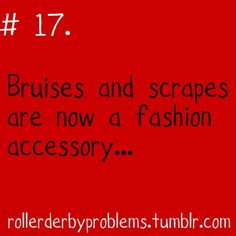 This says for roller derby, but the bruises apply to pole as well :)