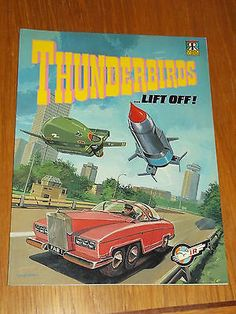 #Thunderbirds lift off ravette #books gerry #anderson graphic novel us magazine~,  View more on the LINK: http://www.zeppy.io/product/gb/2/131623057385/