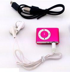 MLLSE Protable Mini Mp3 Müzik Çalar Mp3 Çalar Desteği Mikro TFCard yuvası usb mp3 çalar spor kulaklık ile iphone için usb portu