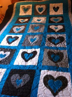 2012 Graduation Quilt  Made from the Heart!