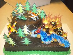Disney Planes Fire & Rescue boy's birthday cake