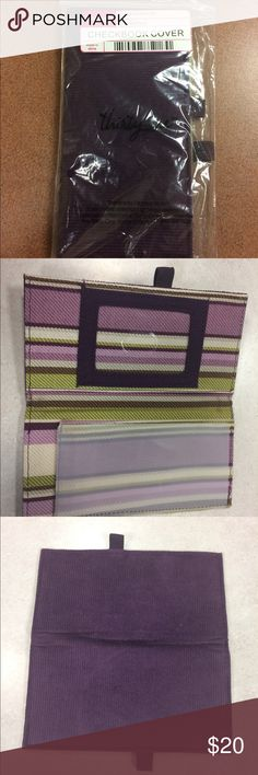 Plum Colored Checkbook Cover by 31 This brand new plum colored 31 checkbook cover is ready for your purse! It is new in the plastic and never been used. 31 Accessories