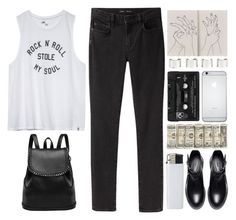 """""""anarchist"""" by tanara-111 ❤ liked on Polyvore featuring Proenza Schouler, Maison Margiela, Zara and Floyd"""