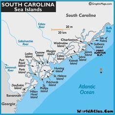 Columbus South Carolina Map.Sc Beaches Map Of South Carolina Beaches South Carolina Coast