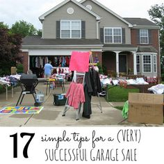 17 Simple Tips for a (Very) Successful Garage Sale