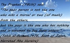 Give in charity :) Quotes of Prophet Muhammad (PBUH)   My Ideas And My Mission To Help