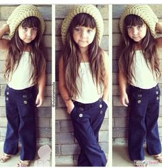 How cute is this little girl and her outfit... I can't.