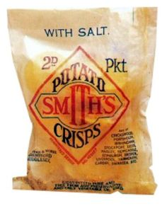 Old Smith's crisps packet