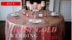 The Easiest, Quickest, Most Affordable, and Elegant Wedding Centerpiece Rose Gold Centerpiece, Tree Wedding Centerpieces, Elegant Centerpieces, Gold Wedding Decorations, Decor Wedding, Wedding Blog, Wedding Ceremony, Destination Wedding, Wedding Ideas