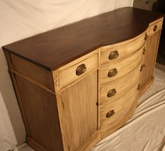 I admire what some women are able to do with their old furniture, it's amazing.