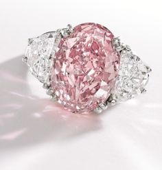 extraordinary in pink with half moon diamonds