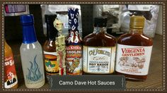 We have a large variety of mild to burning hot sauces...Come check us out. We are even online. www.bonanza.com/booths/Camodavemanmusthaves