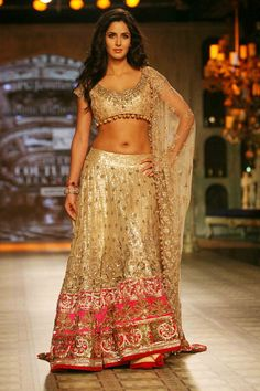 #KatrinaKaif in #Indian #Lehenga - The most beautiful B-Town Actress