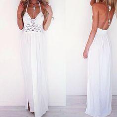 britt_prowse @brittanyprowsexo wearing Sabo Skirt - Crochet White Maxi http://saboskirt.com/shop/product/crochet-white-maxi