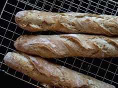 baguetter Norwegian Food, Norwegian Recipes, Baguette, Yummy Food, Baking, Delicious Food, Patisserie, Backen, Bread