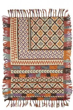 Caravan Wool Kilim | Calypso St. Barth | Turkish Kilim