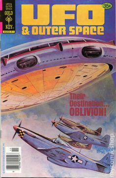 UFO & Outer Space #18 (Gold Key 1978)