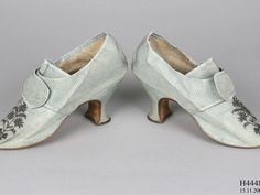 A pair of women's buckle shoes - MAAS Collection