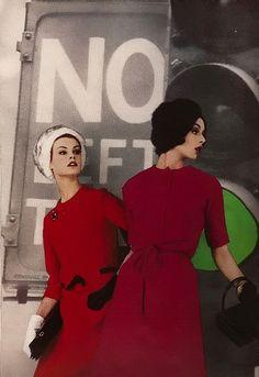 Fashion for Harper's Bazaar UK, 1961.