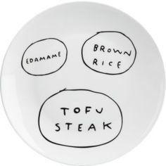 CB2 Tofu Plate $5.95