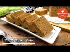 This Coffee Sponge Cake is flavoured with instant coffee powder. This cake has a soft and fluffy texture and light coffee fragrance, it is great to serve on . Yema Cake, Ogura Cake, Sponge Recipe, Sponge Cake Recipes, Coffee Sponge Cake, Coffee Cake, Coffee Flavored Cake Recipe, Dessert Drinks, Dessert Recipes