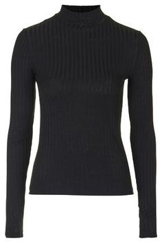 TALL Rib Funnel Neck Top from Topshop. Never a fan of turtlenecks (seriously who would wear apparel named after a reptile's neck?!) BUT the funnel neck reminded me of Audrey Hepburn in Funny Face, and there's nothing wrong with wearing a shirt that makes you feel like AH ;)