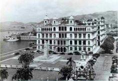 Victoria Hotel in Hong Kong.
