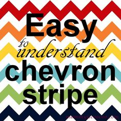 How to paint a Chevron Stripe - Mommy Is Coo Coo